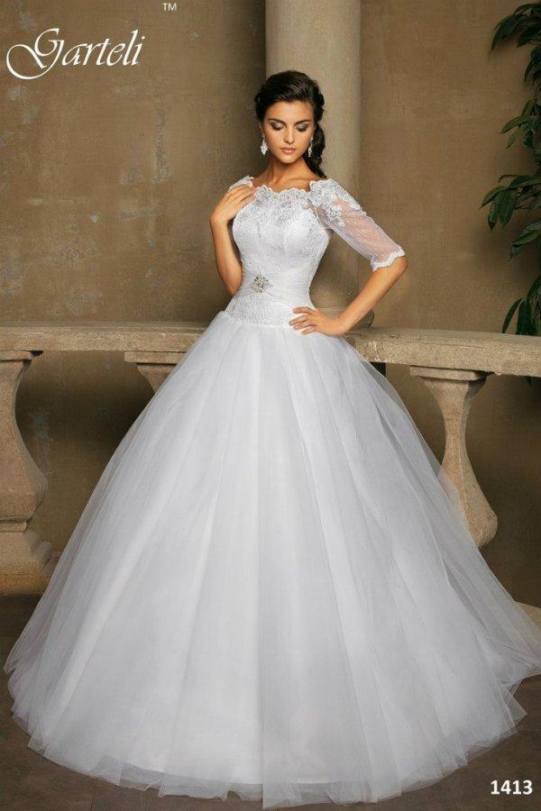 Свадебные платья с закрытым верхом