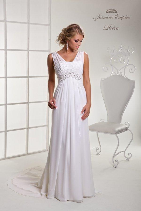 Свадебные платье в греческом стиле для беременных