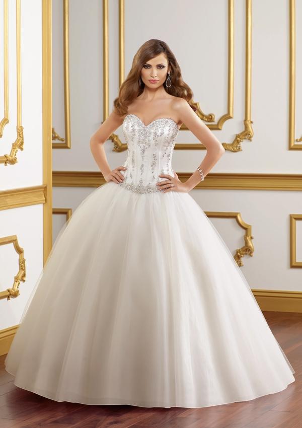 Все свадебные платья с пышной юбкой