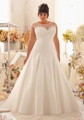 Свадебный платья для полных