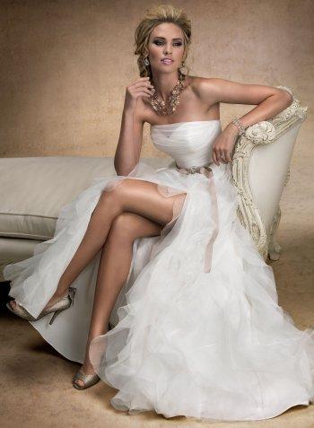 Сексуальные платья свадебные фото