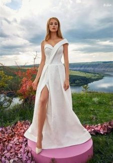 "Wedding dress - ""Ligiya"""