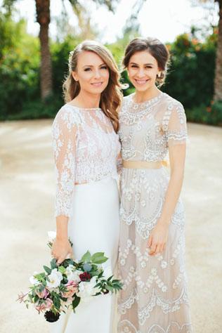 0dd6c4468db51b6 Как подобрать потрясающее свадебное платье кроп-топ ...